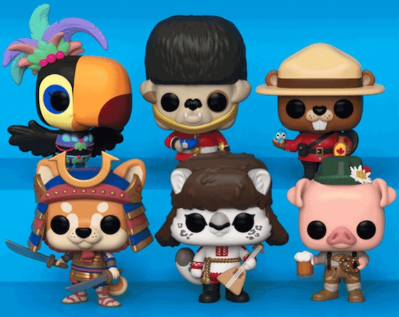 Funko Pop Around the World Figures 1
