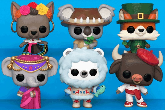 Funko Pop Around the World Figures 3
