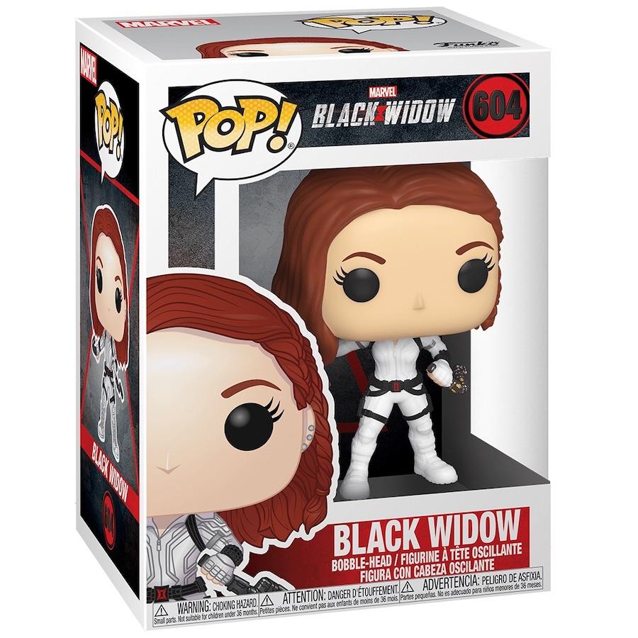 THE AVENGERS// FUNKO POP BLACK WIDOW #91// VINYL BOBBLE-HEAD IN BOX