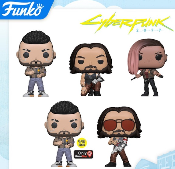 Funko Pop Cyberpunk 2077 Figures 1