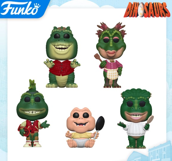 Funko Pop Dinosaurs TV Vinyl Figures 1