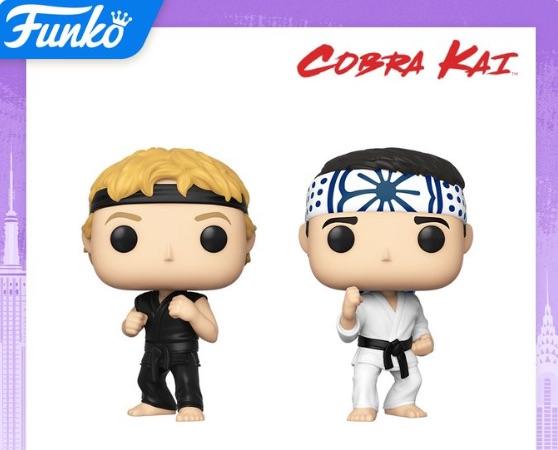 Funko Pop Karate Kid Vinyl Figures 4