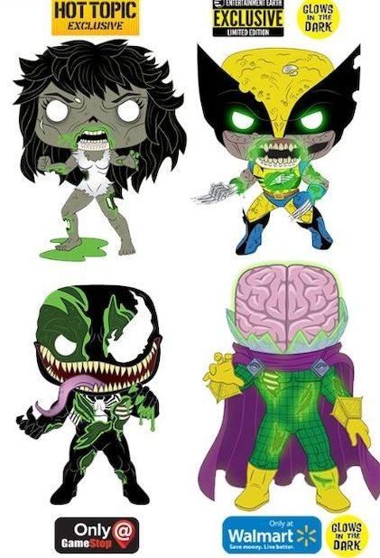 Marvel Zombies Marvel Gambit PopShield Preorder Funko Pop