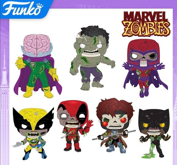 Funko Pop Marvel Zombies Figures 2