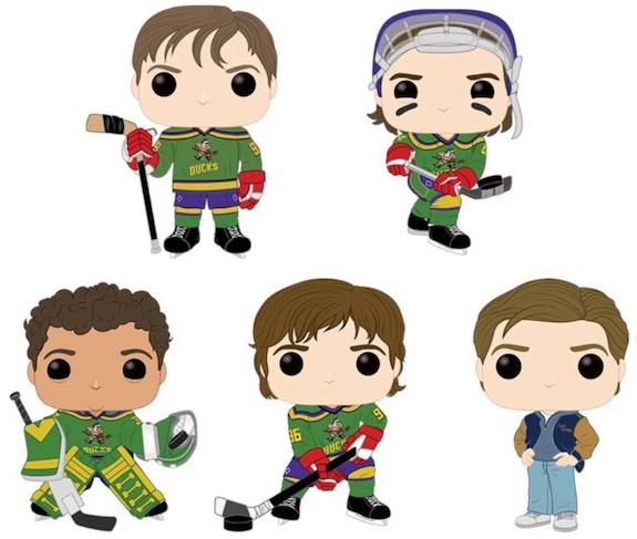 Funko Pop Mighty Ducks Figures 1