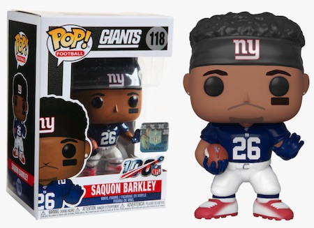 Ultimate Funko Pop NFL Football Figures Checklist and Gallery - 2020 Legends Figures 155