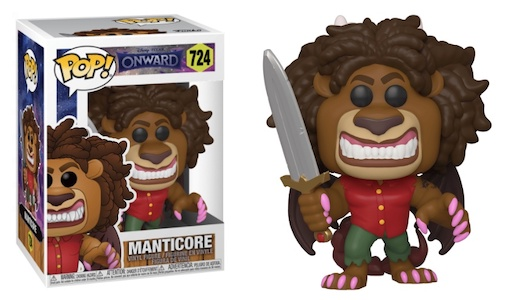 Funko Pop Onward Vinyl Figures 4