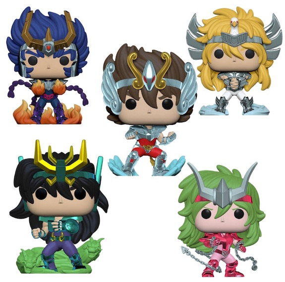 Funko Pop Saint Seiya Figures 1