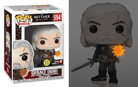 Funko Pop The Witcher Vinyl Figures 9