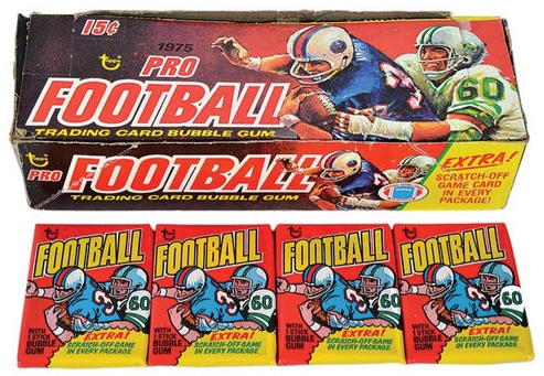 1975 Topps Football Cards 2