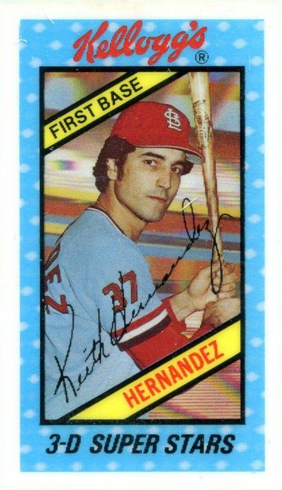 Top 10 Keith Hernandez Baseball Cards 6