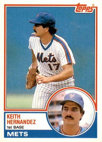 Top 10 Keith Hernandez Baseball Cards 7