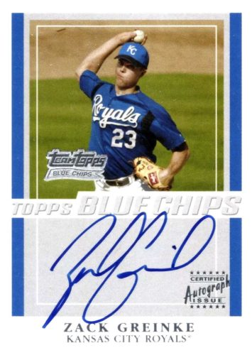 Top Zack Greinke Cards to Collect 6
