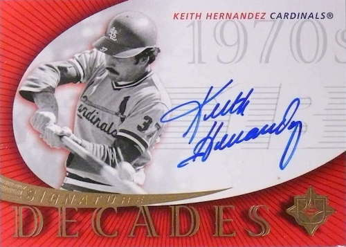 Top 10 Keith Hernandez Baseball Cards 8