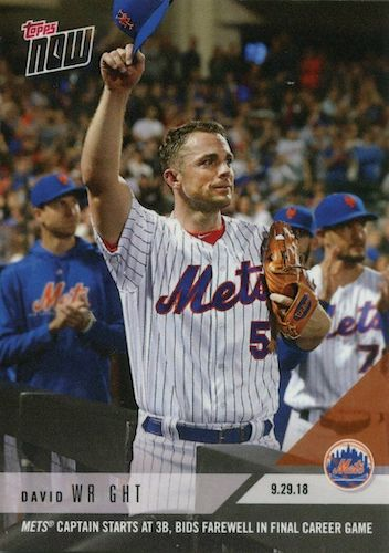 Top 10 David Wright Baseball Cards 5
