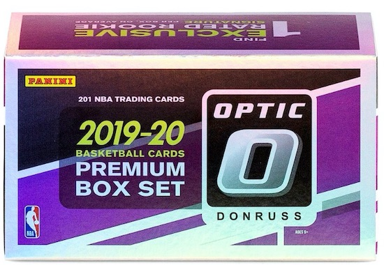 2019-20 Donruss Optic Premium Box Set Basketball Cards 5