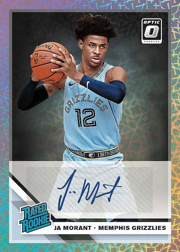 2019-20 Donruss Optic Premium Box Set Basketball Cards 7