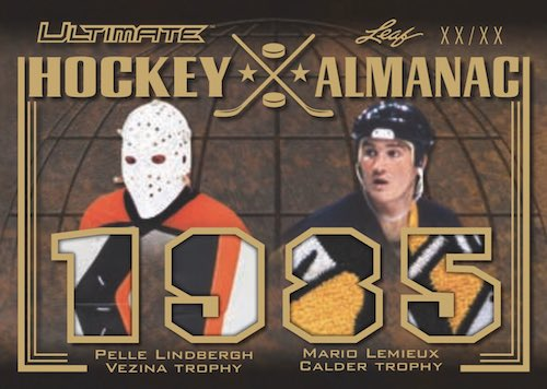 2019-20 Leaf Ultimate Hockey Cards 6