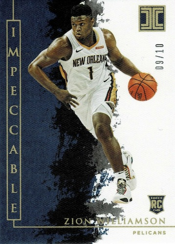2019-20 Panini Impeccable Basketball Cards 8