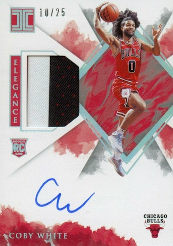 2019-20 Panini Impeccable Basketball Cards 10