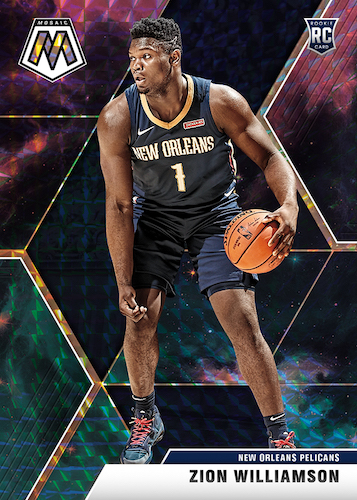 2019-20 Panini Mosaic Basketball Cards 4