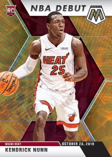 2019-20 Panini Mosaic Basketball Cards 3