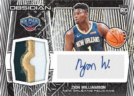 2019-20 Panini Obsidian Basketball Cards 5