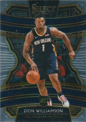 Top Zion Williamson Rookie Cards to Collect 17