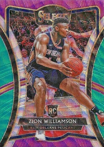 Top Zion Williamson Rookie Cards to Collect 18