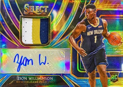 Top Zion Williamson Rookie Cards to Collect 45