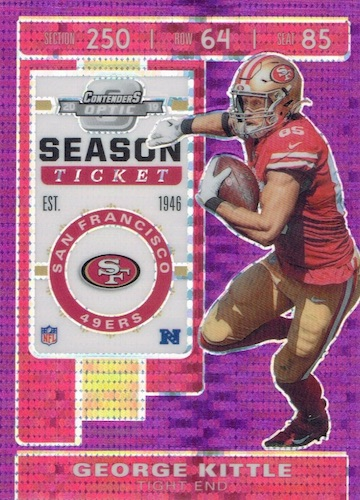 2019 Panini Contenders Optic Football Cards 10