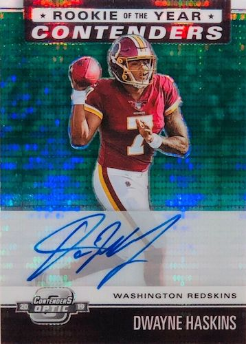 2019 Panini Contenders Optic Football Cards 13