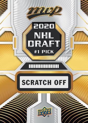 2020-21 Upper Deck MVP Hockey Cards - Rookie Redemption Checklist 5