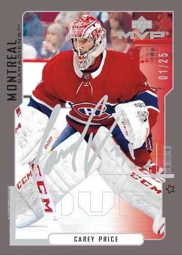 2020-21 Upper Deck MVP Hockey Cards - Rookie Redemption Checklist 6
