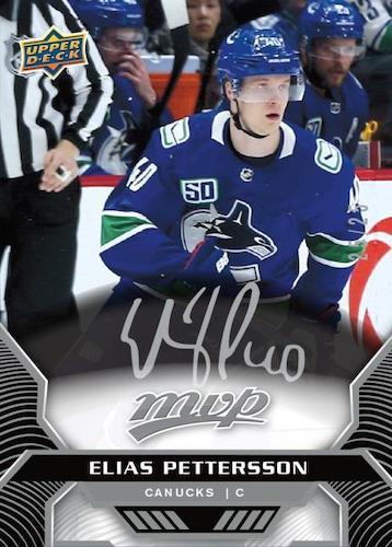 2020-21 Upper Deck MVP Hockey Cards - Rookie Redemption Checklist 4