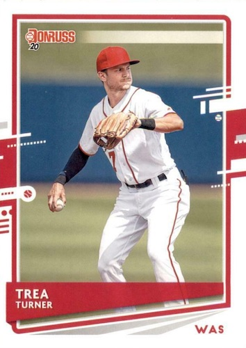 2020 Donruss Baseball Variations Gallery 23