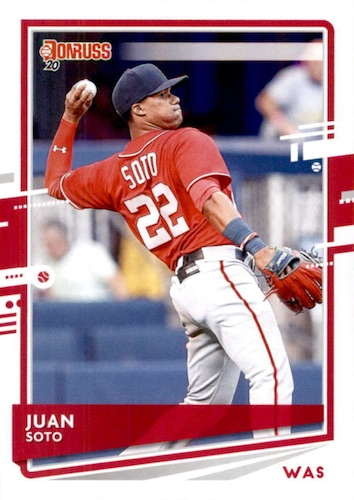 2020 Donruss Baseball Variations Gallery 49