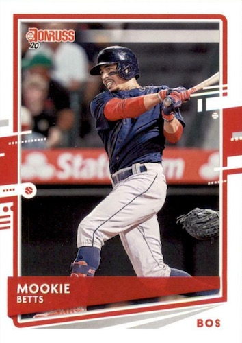 2020 Donruss Baseball Variations Gallery 7