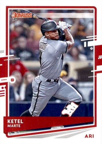 2020 Donruss Baseball Variations Gallery 9