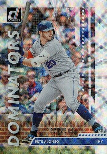 2020 Donruss Baseball Cards 22