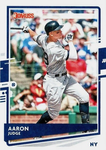 2020 Donruss Baseball Variations Gallery 28