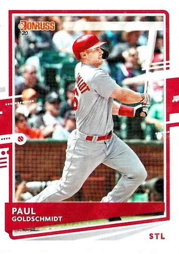 2020 Donruss Baseball Variations Gallery 38