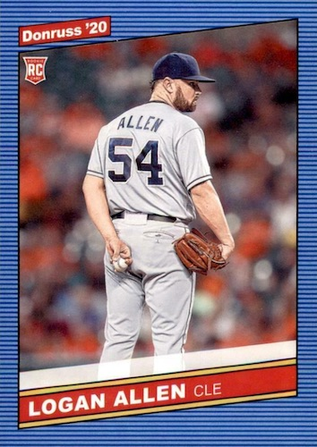 2020 Donruss Baseball Variations Gallery 72