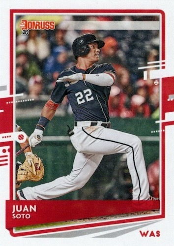 2020 Donruss Baseball Variations Gallery 50
