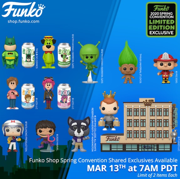 2020 Funko Emerald City Comic Con Exclusives Guide - Shared Figures 2