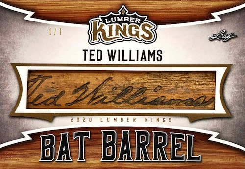 2020 Leaf Lumber Kings Baseball Cards 12