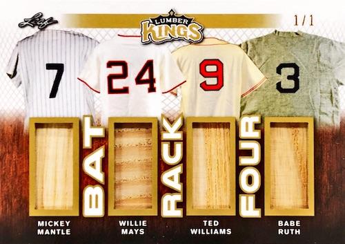 2020 Leaf Lumber Kings Baseball Cards 14