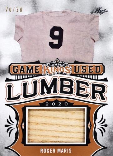 2020 Leaf Lumber Kings Baseball Cards 13
