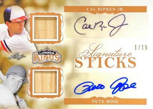 2020 Leaf Lumber Kings Baseball Cards 9