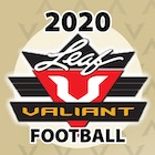 2020 Leaf Valiant Football Card